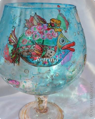В подарок заядлому рыбаку был выполнен следующий презент....  Рыбка в шляпке фото 1