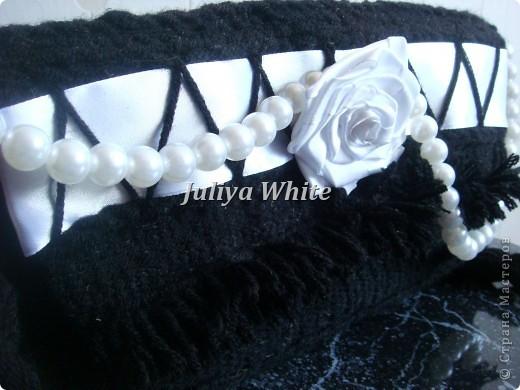"""Тканая сумка """"white rose"""" (гобелен) фото 2"""