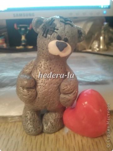 Медвежонок Тедди (высота 8,5 см.) фото 1