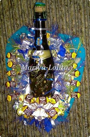 Вот как  красиво можно преподнести итальянское вино:-) фото 5