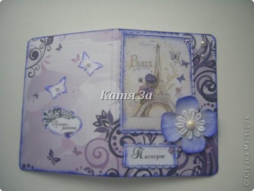 Здравствуйте, Мастерицы!  Я опять с обложками на паспорт! :) №1. фото 1