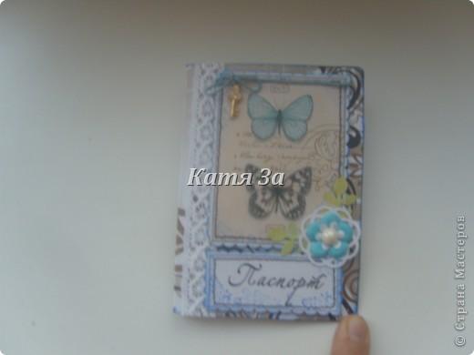 Здравствуйте, Мастерицы!  Я опять с обложками на паспорт! :) №1. фото 5