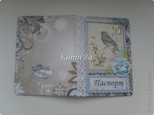 Здравствуйте, Мастерицы!  Я опять с обложками на паспорт! :) №1. фото 4