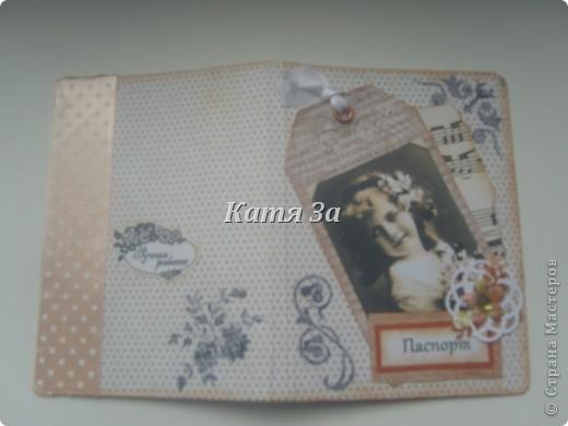 Здравствуйте, Мастерицы!  Я опять с обложками на паспорт! :) №1. фото 8