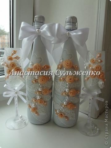 Мой первый заказ набором))) Попросили сделать нежным, под цвет платья айвори! фото 5