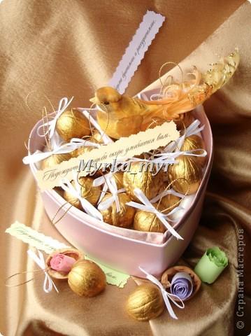 Орешки с пожеланиями мастер класс