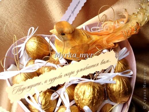 Свадебный день позади.... Скажите спасибо гостям, что они были на вашем торжестве. Вместе  с вами провели незабываемые минуты и разделили слезы радости. Угостите их орешками с сюрпризом! фото 2