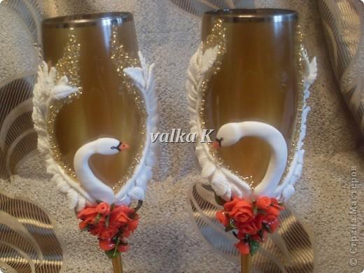 лебеди и розы фото 2