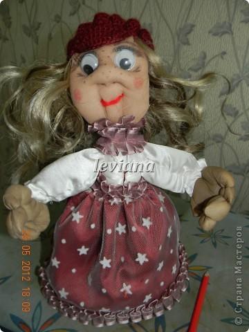 моя первая куколка.У неё появились ручки и нетолько... фото 4
