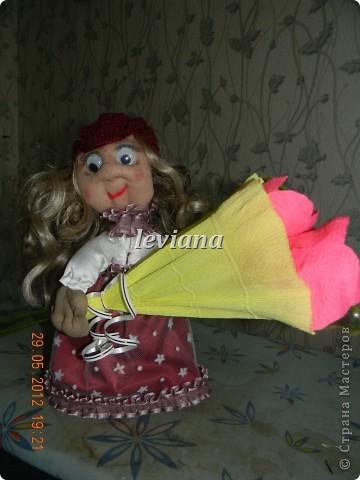 моя первая куколка.У неё появились ручки и нетолько... фото 5
