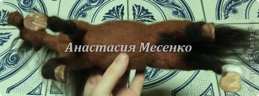 Валяная лошадь-Гармония(3-я работа на заказ) фото 2