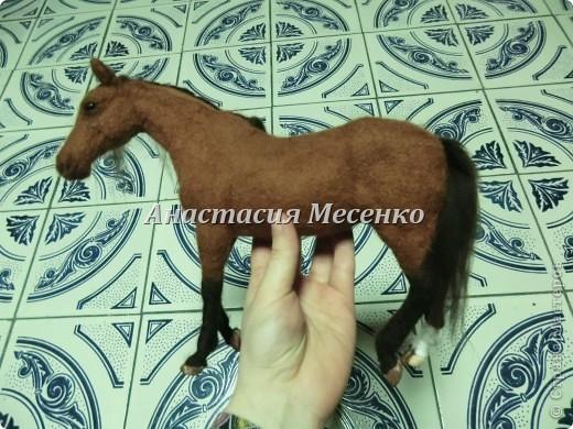 Валяная лошадь-Гармония(3-я работа на заказ) фото 3