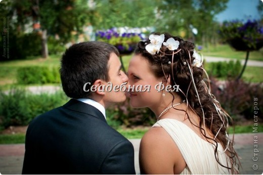 Работая над созданием образа невесты, каждый раз соприкасаешься с тайной перевоплощения. И помните, каждая невеста имеет свою неповторимую красоту. фото 8