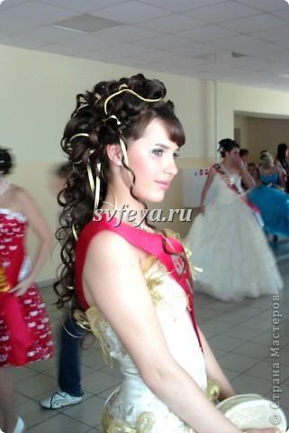 Прическа на выпускной 2012