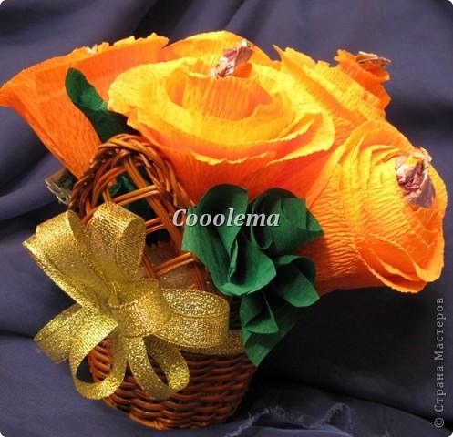 Всем привет! Продолжаю опыты в свит-дизайне... Первая корзинка - с пиончиками, спасибо Ольге RODI (http://stranamasterov.ru/node/351268?c=favorite) фото 6
