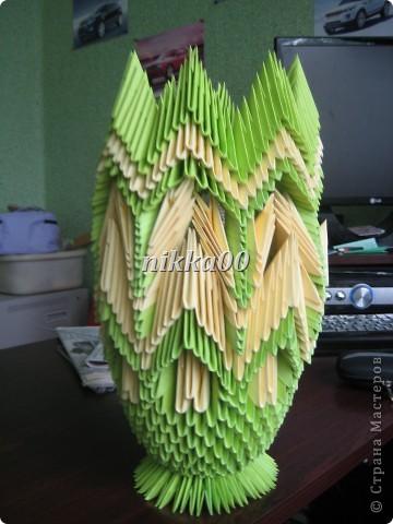 Вот такая вазочка у меня получилась по МК Галины Тиховой фото 1