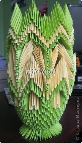 Вот такая вазочка у меня получилась по МК Галины Тиховой фото 3