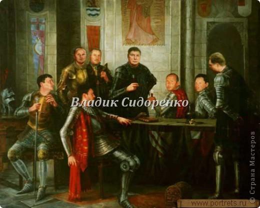 Мои герои.Фея Моргана,Ланселот,Мерлин,Артур. фото 4