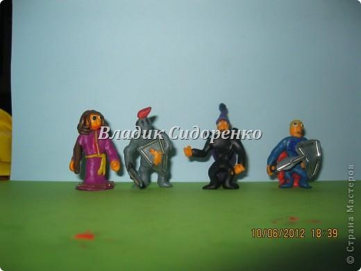 Мои герои.Фея Моргана,Ланселот,Мерлин,Артур. фото 1