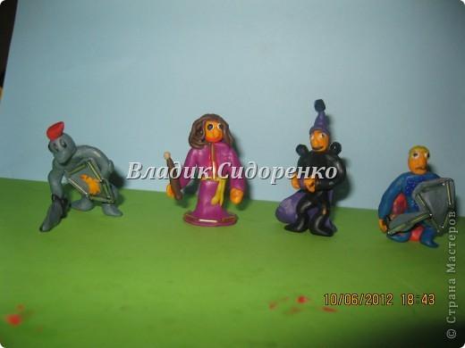 Мои герои.Фея Моргана,Ланселот,Мерлин,Артур. фото 2