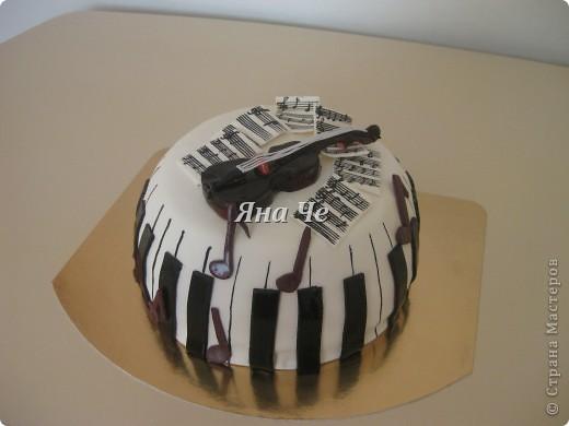 Музыкальный такой вот тортик... фото 1