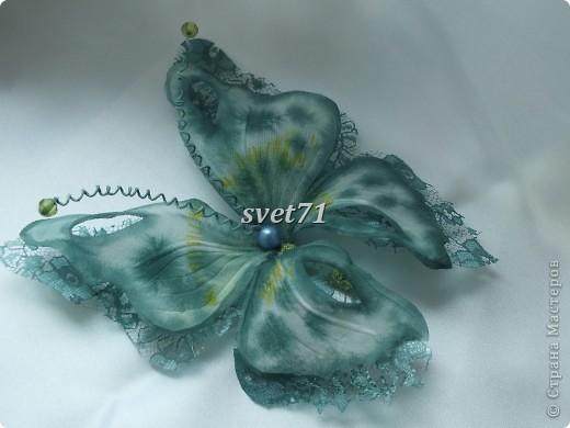 Бабочка из шелка. фото 2