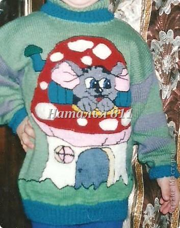 детские свитера фото 6