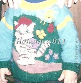 детские свитера фото 3