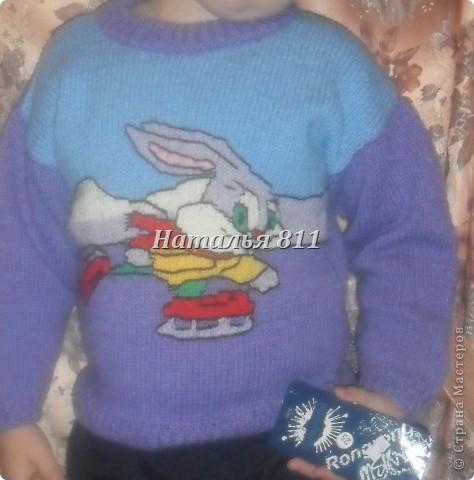 детские свитера фото 1