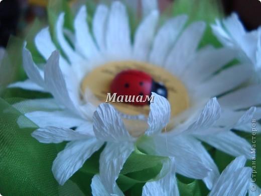 Букет из конфет.Мои любимые лилии. Гофрированная бумага, флористическая сетка. Акварель. Корзинка уехала в Кинешму. Лилии делала в первый раз, считаю что получилось удачно, правда недостатков куча. фото 4