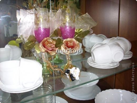 мои свадебные бокалы фото 4