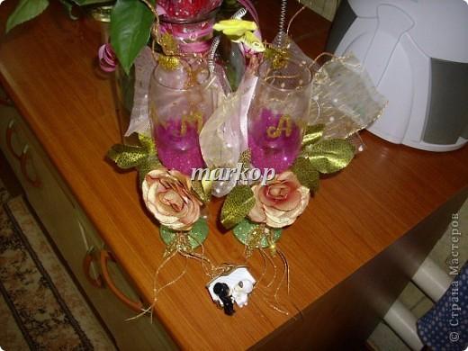 мои свадебные бокалы фото 3