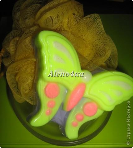 """мыло """"Бабочка"""" - состав базовых масел и отдушек или ЭМ самый разнообразный - на любой вкус.  фото 1"""