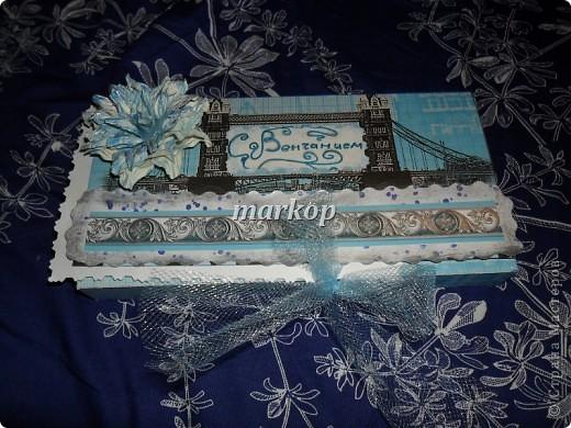 шоколадница-денежный конверт подарок на венчание фото 1