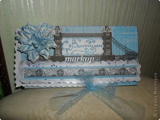 шоколадница-денежный конверт подарок на венчание фото 2