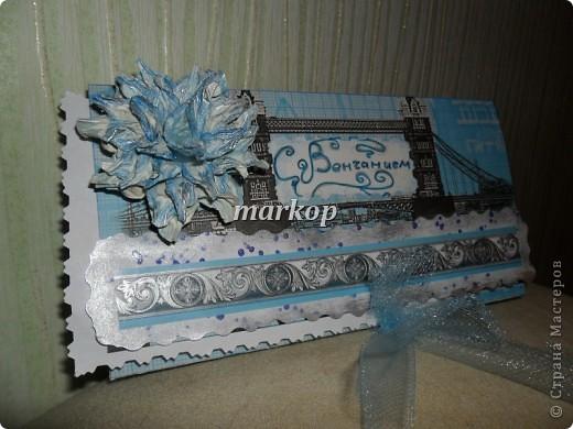 шоколадница-денежный конверт подарок на венчание фото 3