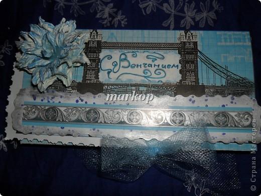 шоколадница-денежный конверт подарок на венчание фото 4