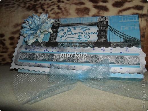 шоколадница-денежный конверт подарок на венчание фото 5