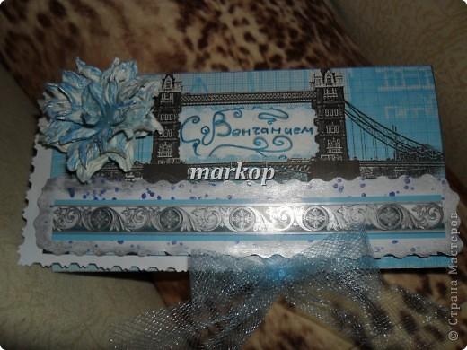 шоколадница-денежный конверт подарок на венчание фото 6