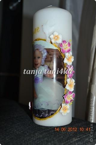свечки на крещение фото 1