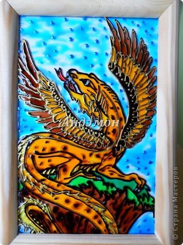Пернатый леопардовый дракон. фото 1