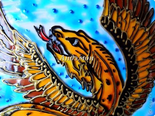 Пернатый леопардовый дракон. фото 2