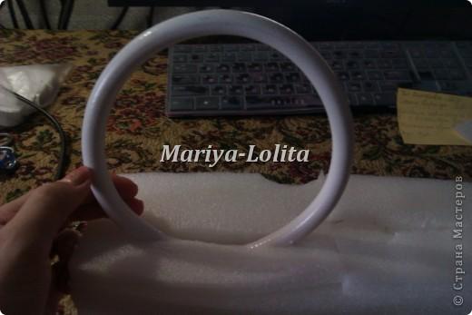 Свадебные кольца на стол ( МК ) фото 5