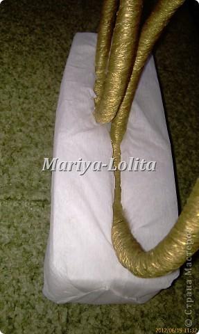 Свадебные кольца на стол ( МК ) фото 8