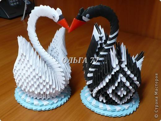 Свадебные лебеди фото 19