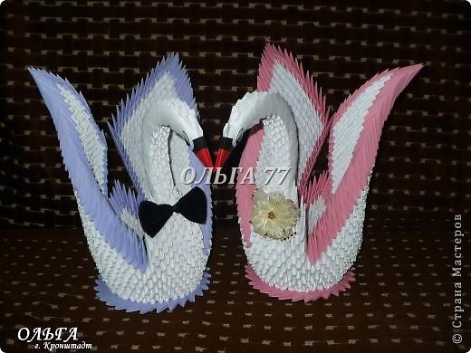 Свадебные лебеди фото 5