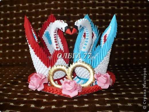 Свадебные лебеди фото 11