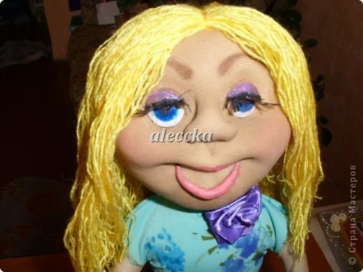 Вот моя куколка Олеся. Платье снимается.  фото 2