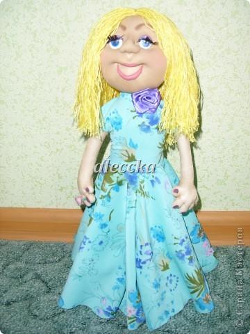 Вот моя куколка Олеся. Платье снимается.  фото 1
