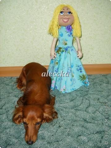 Вот моя куколка Олеся. Платье снимается.  фото 6